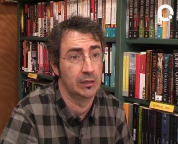 Jaume Subirana rep el 10è Premi de Poesia Gabriel Ferrater