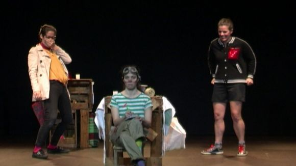 Queralt Casasayas, Magda Puig i Bàrbara Roig són les supertietes / Foto: Web de l'Ajuntament