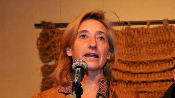 Susanna Pellicer és alcaldessa accidental fins divendres que ve