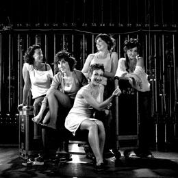 Les 5 actrius repassen amb el públic alguns dels millors esquetxos de la seva trajectòria