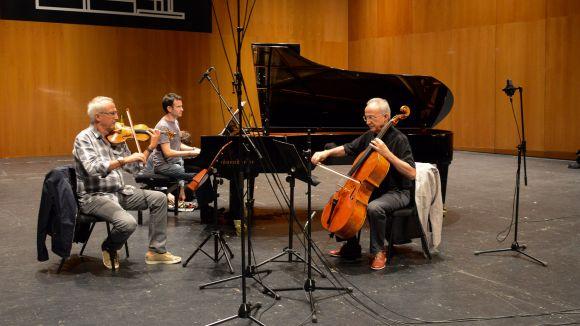 Artistes locals enregistren els seus discos al Teatre-Auditori