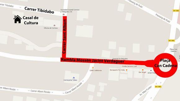 La rua de Carnaval de Valldoreix obligarà a fer talls puntuals al trànsit