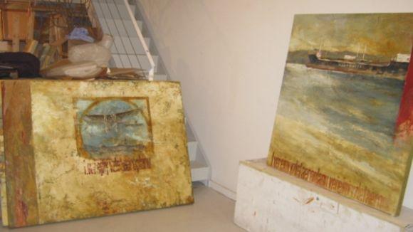L'artista Carme Aliaga enceta l'any a Pou d'Art