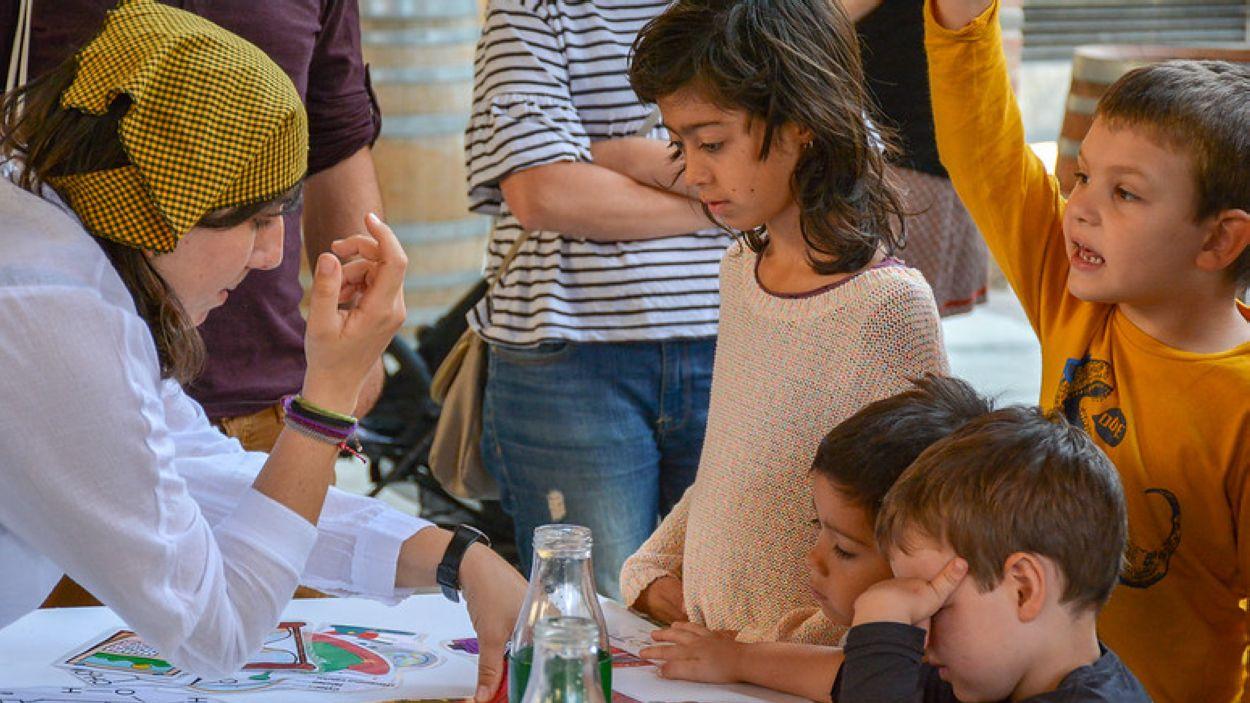 Taller infantil a Sant Cugat / Foto: Ajuntament de Sant Cugat