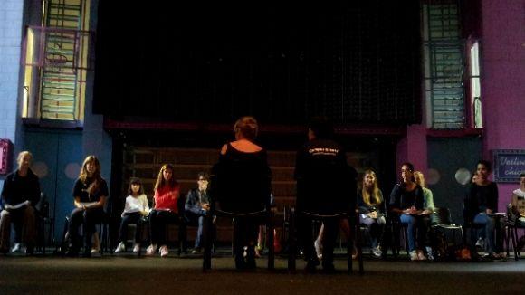 Coco Comín obre la porta al 'backstage' del teatre musical