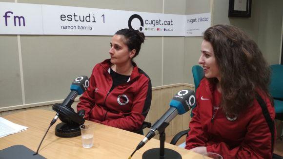 D'esquerra a dreta, Maria Rosa Tamburini i Marta Nache