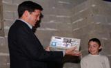 L'alcalde Recoder va participar a l'acte de cloenda del Monestir dels Infants