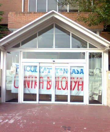Reobren la facultat de Comunicació de la UAB, bloquejada pels crítics amb el Pla Bolonya