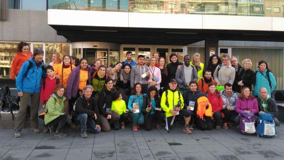 Sant Cugat torna a rebre participants de la Transpirenaica Social Solidària