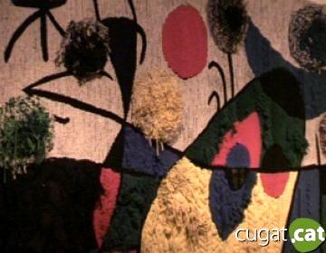 El Centre Miró de Mont-roig del Camp exposa tapissos de l'artista fets a Sant Cugat