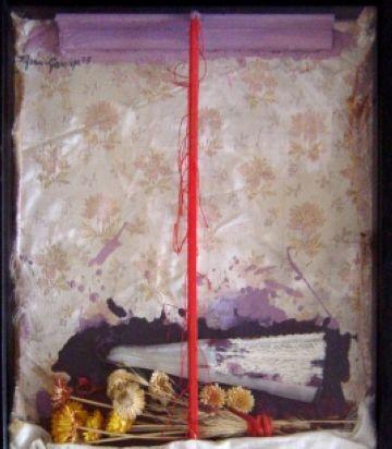 L'artista santcugatenc Grau Garriga porta la seva obra a Vilafranca del Penedès