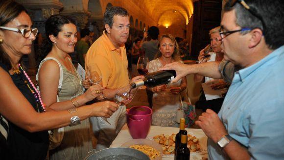 Imatge d'una edició anterior del Tast de Vins / Foto: Localpres