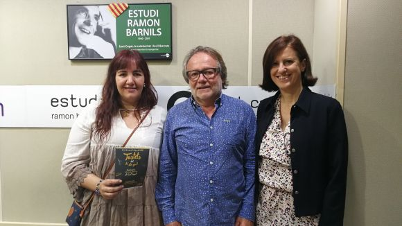 D'esquerra a dreta, Mayte Pérez, Fidel Trias i Sílvia Solanellas