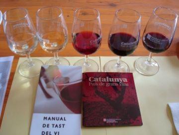 Els vins blancs de barrica protagonitzen el tast de vins dels veïns de Ca n'Enric-La Miranda