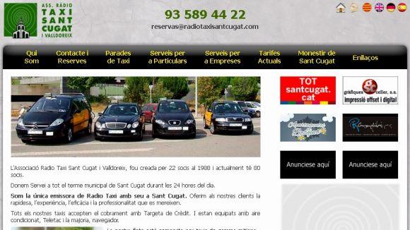 Telèfon provisional de Ràdio Taxi per als serveis fins aquest dimecres