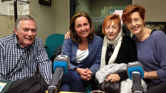 Eduard Araujo, Maria Vancells, Trini Escrihuela i Carmen Ballesteros