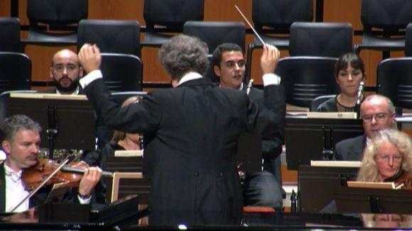 El Teatre-Auditori s'omple per rebre el 'Rèquiem' de Mozart de l'Orquestra Simfònica del Liceu