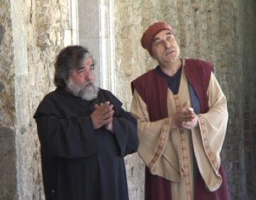 El pont de maig redueix la participació a les visites teatralitzades del Monestir