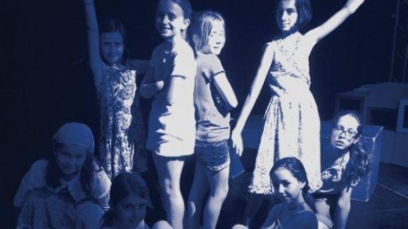 Membres de la companyia Teatre Infantil Sant Cugat
