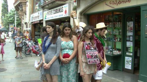 Els tallers teatrals Sílvia Servan porten la seva 'Alegria infinita' al carrer
