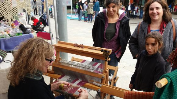 El 3r Teixim Sant Cugat torna a portar al carrer la promoció de l'art tèxtil