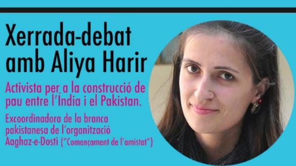 Nits temàtiques de la Unipau: Xerrada-debat amb Aliya Harir