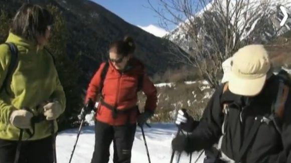 'El temps oportú' es posa les raquetes de neu
