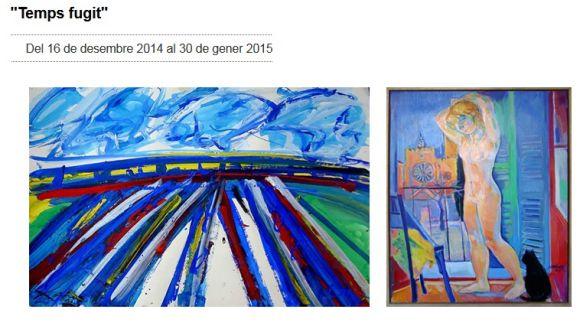 'Temps fugit' recull obres de Picasso, Pladevall, Formiguera i Barnils a la Canals