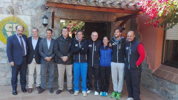El Club Esportiu Valldoreix acull el 1r Congrés de pàdel i tennis
