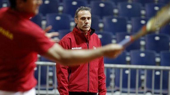 Corretja i l'equip espanyol de Copa Davis cau eliminat a primeres de canvi