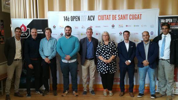La 14a edició de l'Open ITF ACV del Natació Sant Cugat aposta per l'esport adaptat