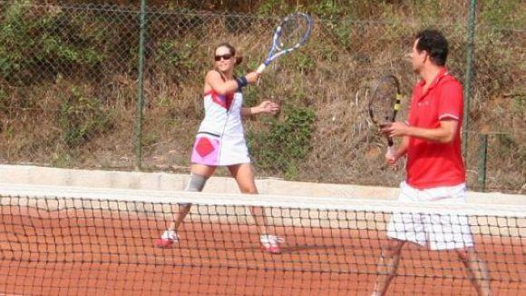 El Club Esportiu Valldoreix acull una prova del ITF sènior de tennis