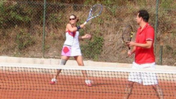 El Junior i el Club Tennis Natació Sant Cugat organitzen un torneig internacional de veterans