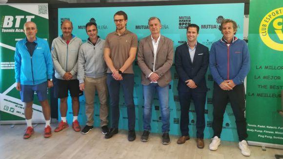 El Club Esportiu Valldoreix acull per primera vegada el torneig sub 16 de tennis Mutua Madrid