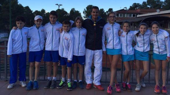 Imatge de l'equip aleví del Natació Sant Cugat / Font: Club Tennis Natació Sant Cugat