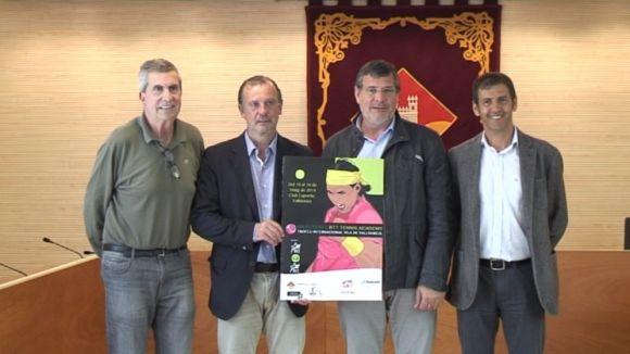 Les joves promeses del tennis internacional es reuneixen al torneig Futures de Valldoreix
