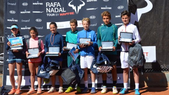 Guanyadors del Torneig Rafa Nadal / Font: Rafa Nadal