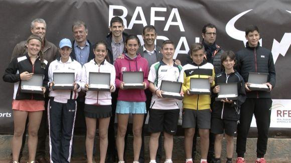 Els tennistes madrilenys, valencians i aragonesos dominen el Rafa Nadal Tour del CE Valldoreix
