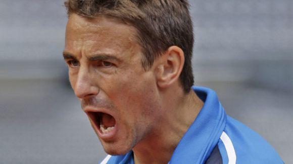 El tennista Tommy Robredo accedeix a vuitens de final del Godó