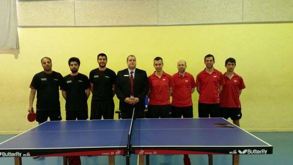 La UE Sant Cugat de tennis taula està a una victòria de jugar la fase d'ascens