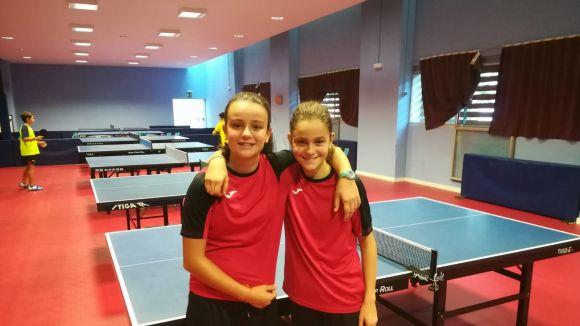 Les germanes Munné revolucionen el tennis taula català, estatal i europeu