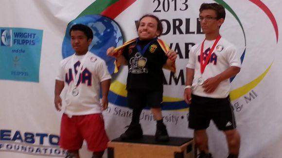 Pahisa suma la medalla d'or en tennis taula als Jocs Mundials per a Persones de Talla Baixa