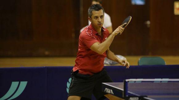 Josep Antón es classifica per a l'Estatal de tennis taula després de superar el zonal