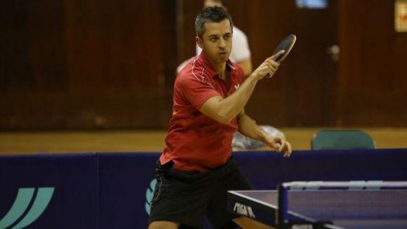La UESC de tennis taula perd el primer partit de la temporada i també el liderat en solitari