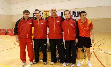 Selecció espanyola de tennis taula / Font: Linares28.es