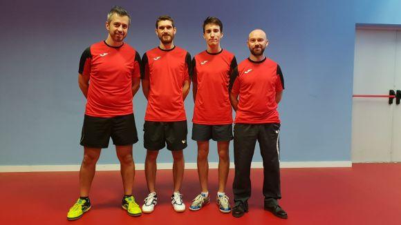 La UESC de tennis taula baixa a Segona Nacional en una temporada plena d'obstacles
