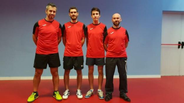 La UESC de tennis taula vol retornar a Primera Nacional / Font: Josep Anton