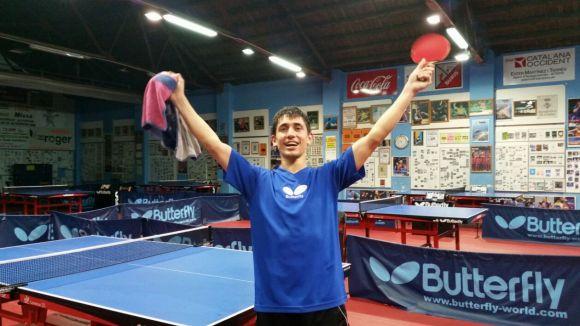 El palista de la UESC Álvaro Barreneche es proclama campió de l'Open de Catalunya