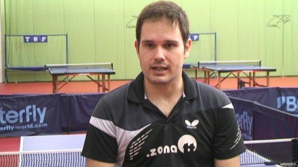 El palista del CAR Jordi Morales guanya el Mundial paralímpic de tennis taula