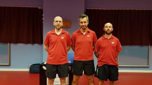 L'equip de la UESC de tennis taula